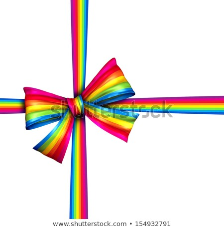 fine · Rainbow · pot · oro · cielo · albero - foto d'archivio © lightsource