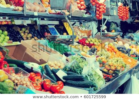 armut · gıda · depolamak · arka · plan · meyve · pazar - stok fotoğraf © Catuncia