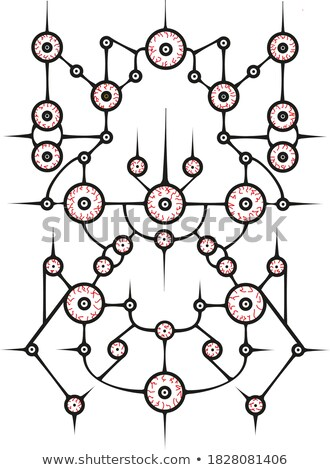 Complicated Network Structure Shows Networking Stock photo © stuartmiles