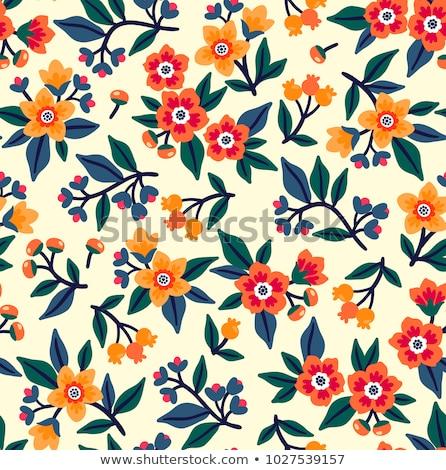 textúra · gyönyörű · citromsárga · narancs · virágok · természet - stock fotó © maros_b