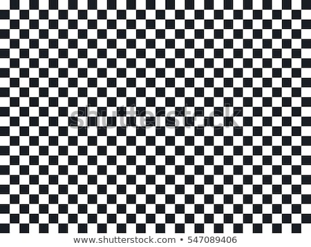 Black and White Checkers on Textured Fabric Background Stock photo © karenr