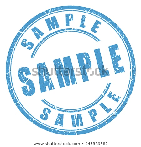 Example rubber stamp Stock photo © burakowski