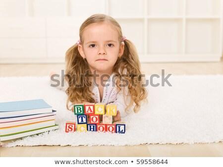Değil mutlu fotoğraf genç işadamı yalıtılmış Stok fotoğraf © ajn