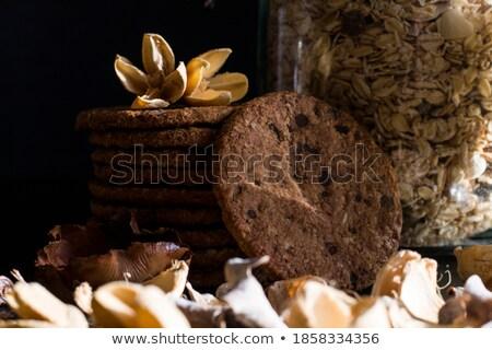 Caseiro muesli saboroso comida Foto stock © jarin13