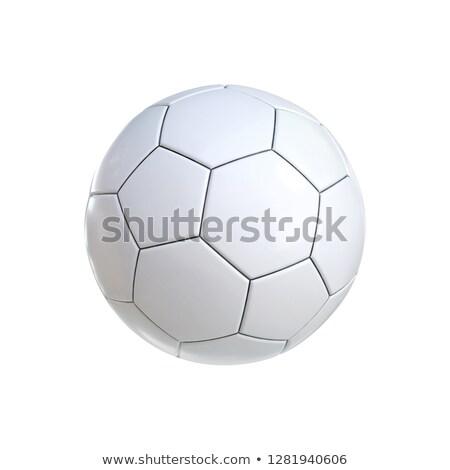 3d · визуализации · иллюстрация · футбольным · мячом · белый · Футбол · спорт - Сток-фото © hd_premium_shots