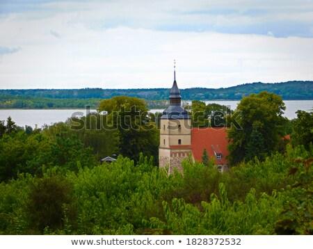 St. Petri church in Benz, Germany Stock photo © meinzahn
