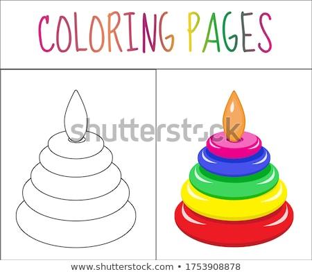 Pyramid of colors Stock photo © Koufax73