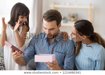 Surprising birthday present Stock photo © Novic