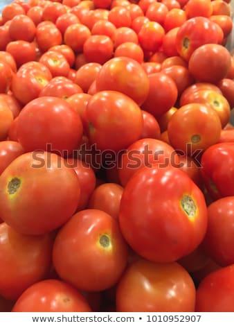 Fresh colorful tomatoes Stock photo © Klinker