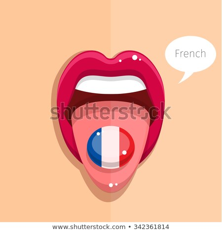 French Kiss Flag stock photo © Stephanie_Zieber