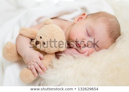 Сток-фото: спальный · ребенка · лице · медицинской · здоровья · Kid