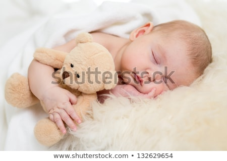 Sleeping tot Stock photo © fanfo