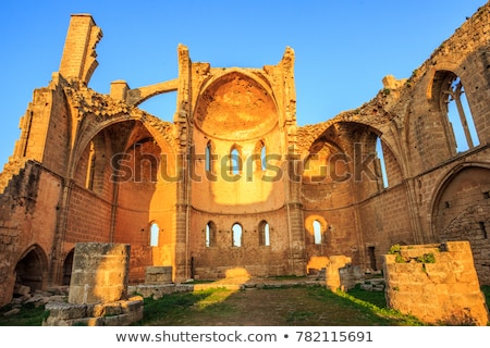 Medieval Ruins of the St. George of the Greeks Church. Famagusta, Cyprus Stock photo © Kirill_M