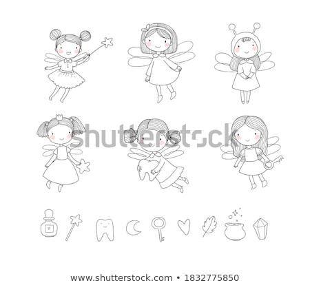 little fairy stock photo © naumoid