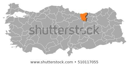 Map of Turkey, Giresun Stock photo © Istanbul2009