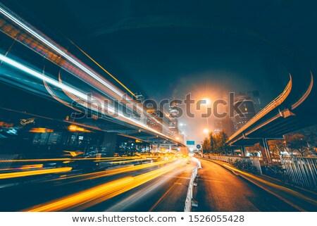 Városok stilizált gyors iram zaj mozgás Stock fotó © tracer
