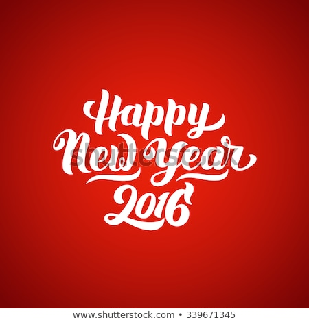 2016 happy new year background collection stock photo © davidarts