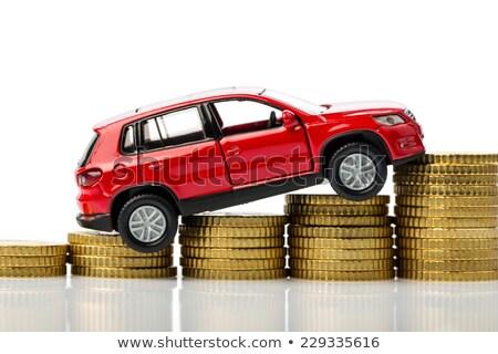 Wzrost paliwa ceny cena działalności energii Zdjęcia stock © alphaspirit