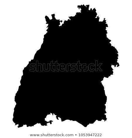 Mapa Alemania punto patrón tabla tierra Foto stock © Istanbul2009