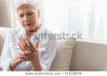женщину страдание стороны более белый Сток-фото © wavebreak_media