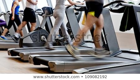 Erschossen Fitnessstudio hellen Licht Fitness Hintergrund Stock foto © wavebreak_media