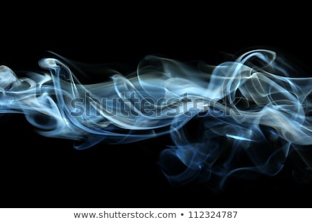 Incienso humo resumen ardor negro fumar Foto stock © PixelsAway