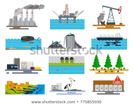 Man Made Pollution Stock photo © Lightsource