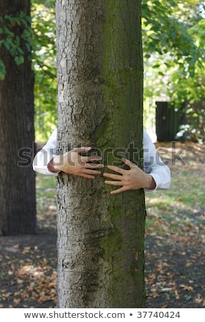 Recycling Tree hugger Stock photo © kabby