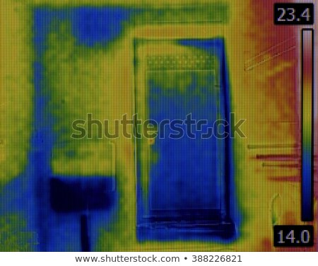 Toilet Flusher Infrared Image Stock photo © Suljo