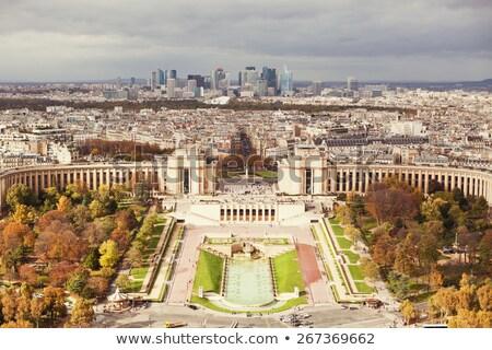 statue at the Palais de Chaillot from Trocadero, Stock photo © artjazz