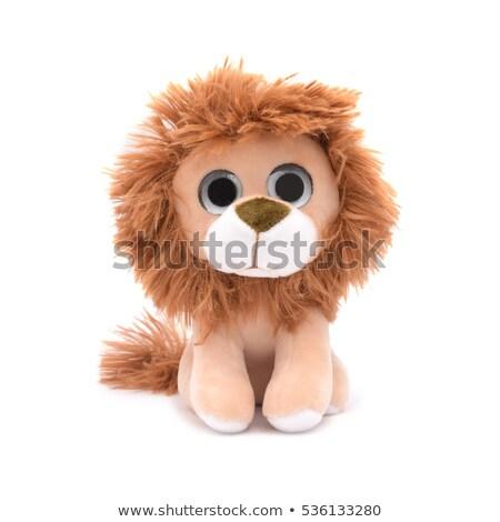 Plush lion Stock photo © FER737NG