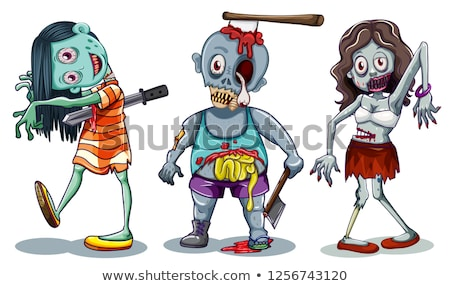 A male zombie Stock photo © bluering