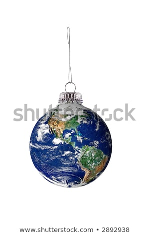 christmas ball in the form of the world stock photo © adrenalina