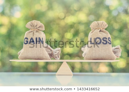 Calculate Money Gains and Losses Stock photo © idesign