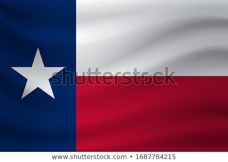 texas waving flag set stock photo © nazlisart