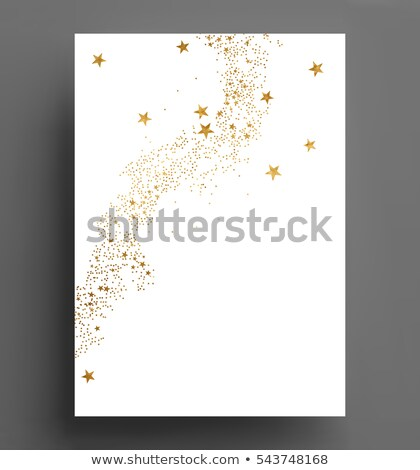 Altın lekeli güzel altın Retro renk Stok fotoğraf © SArts