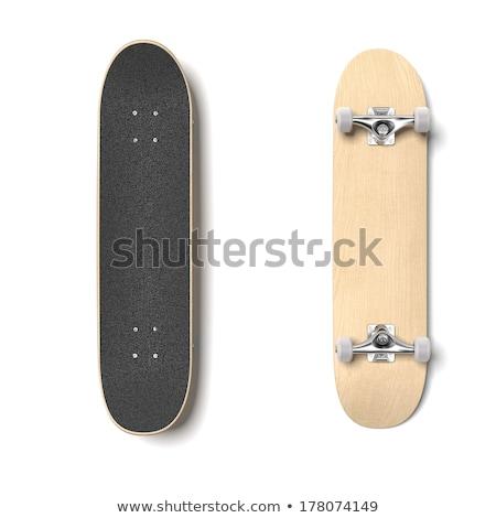 Illustration of Skateboard deck isolated Stock photo © tussik