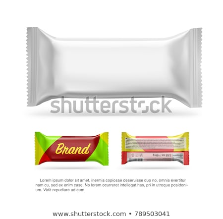 Blank chocolate bar packaging Stock photo © magraphics