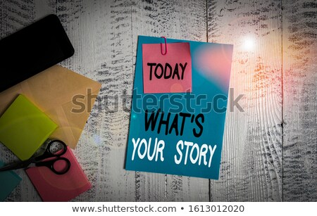 Tell Me a Story... Stock photo © psychoshadow