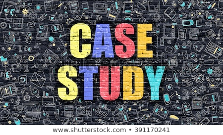 cas · étude · texte · portable · bureau - photo stock © tashatuvango
