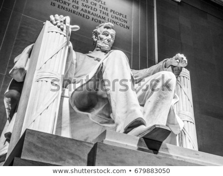 the lincoln memorial in wahington dc usa stock photo © dutourdumonde