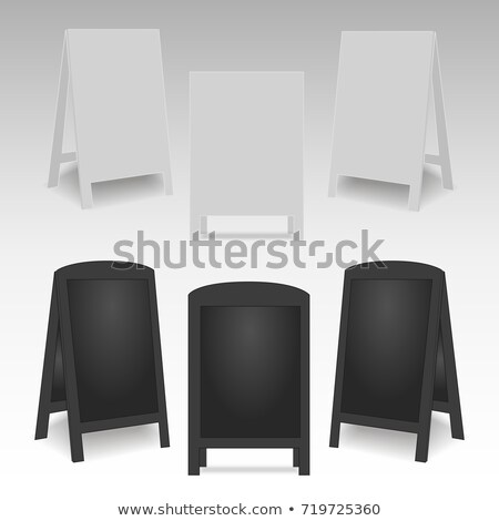 Blank Advertising Street Handheld Vector Stock photo © pikepicture
