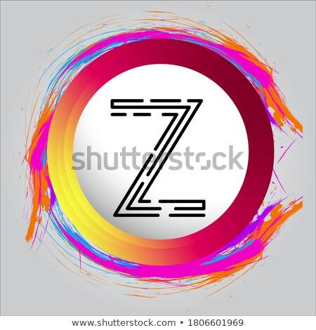 Creative Logo letter Z design for brand identity, company profil Stock photo © DavidArts