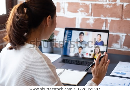 A young asian businesswoman Stock photo © IS2