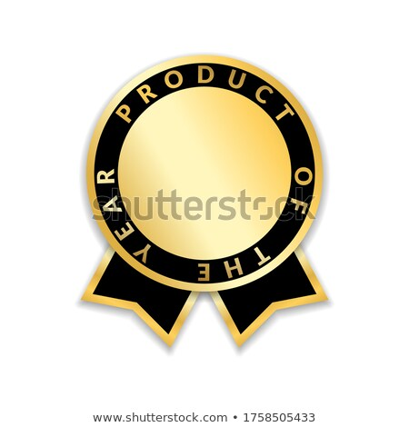 специальный лучший продажи Знак черный золото Сток-фото © place4design