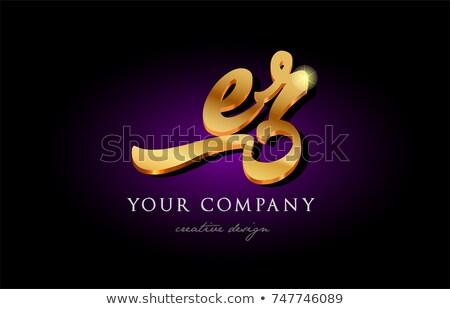 levél · logo · szimbólum · üzlet · technológia · terv - stock fotó © meisuseno