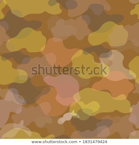 Wojskowych kamuflaż starych drzew bezszwowy Zdjęcia stock © popaukropa