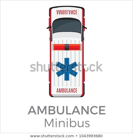 Ambulance Minibus Car Means of Transportation Stock photo © robuart