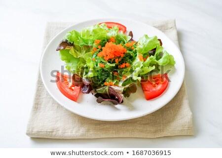 karışık · sebze · salata · gıda · öğle · yemeği · diyet - stok fotoğraf © m-studio