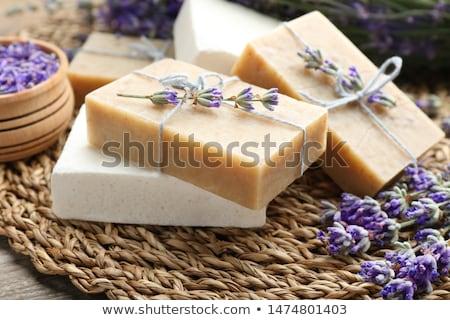 Natural hand made soap Stock photo © Lana_M